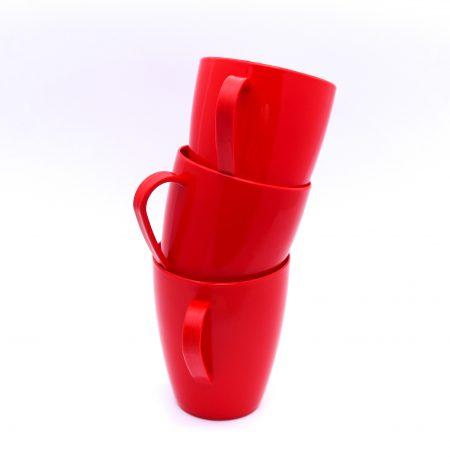 kit cafe x 3 rojo