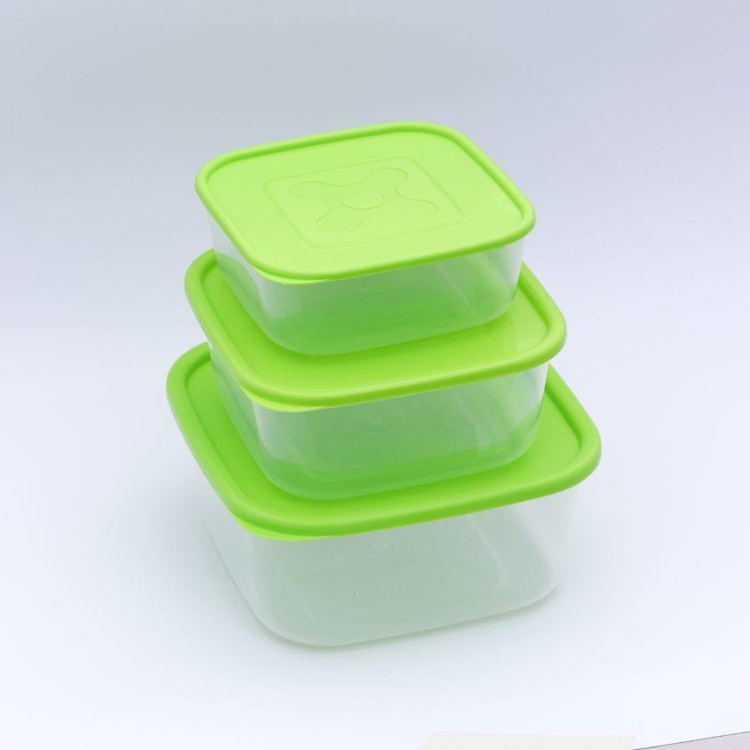 kit cuadrados x 3 verde